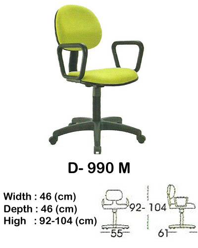 kursi staff & secretary indachi d- 990 m