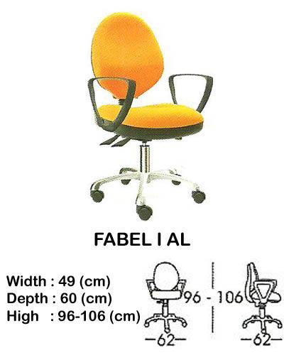 kursi staff & secretary indachi fabel I al