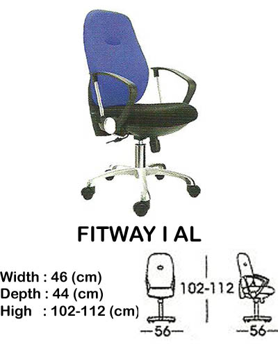 kursi staff & secretary indachi fitway I al