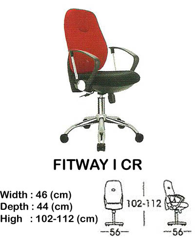 kursi staff & secretary indachi fitway I cr