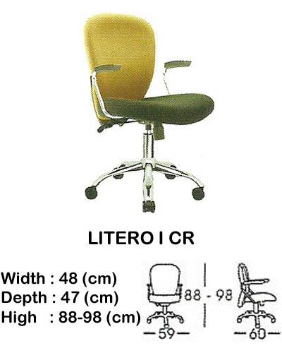 kursi staff & secretary indachi litero I cr