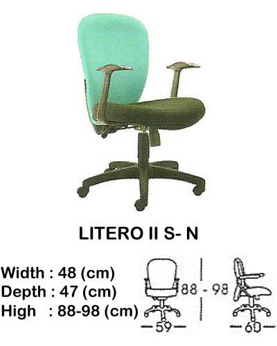 kursi staff & secretary indachi litero II s- n
