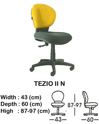 kursi staff & secretary indachi tezio II n