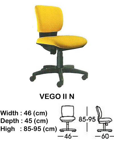 kursi staff & secretary indachi vego II n
