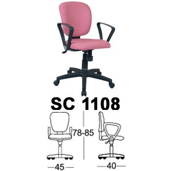 kursi staff & sekretaris chairman type sc 1108