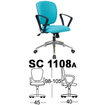 kursi staff & sekretaris chairman type sc 1108a