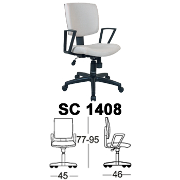 kursi staff & sekretaris chairman type sc 1408