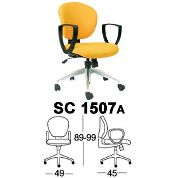 kursi staff & sekretaris chairman type sc 1507a
