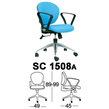kursi staff & sekretaris chairman type sc 1508a