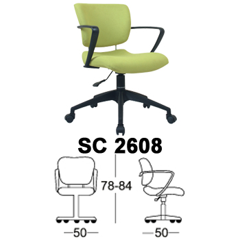 kursi staff & sekretaris chairman type sc 2608