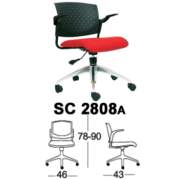 Jual kursi staff & sekretaris chairman type sc 2808a