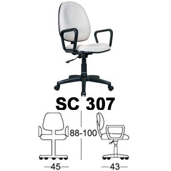 kursi staff & sekretaris chairman type sc 307