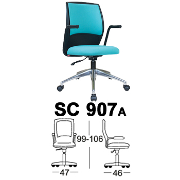 kursi staff & sekretaris chairman type sc 907a