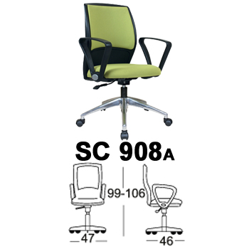 kursi staff & sekretaris chairman type sc 908a