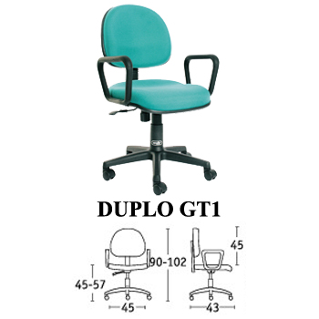kursi staff & sekretaris savello type duplo gt1