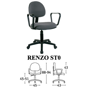 kursi staff & sekretaris savello type renzo st0