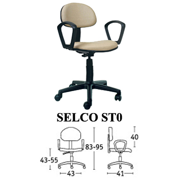 kursi staff & sekretaris savello type selco st0
