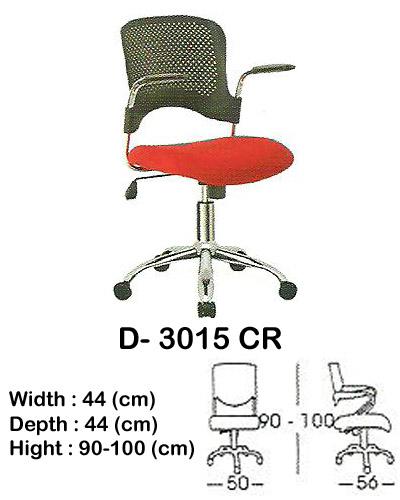 kursi utility indachi d- 3015 cr