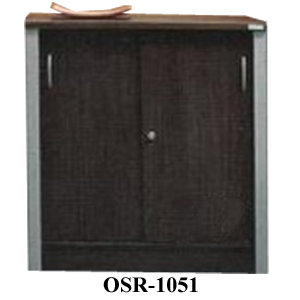 lemari arsip pendek pintu geser osr-1051