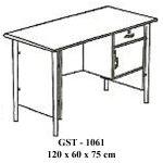meja kantor ½ biro gst - 1061