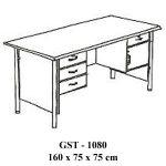 meja kantor 1 biro gst - 1080