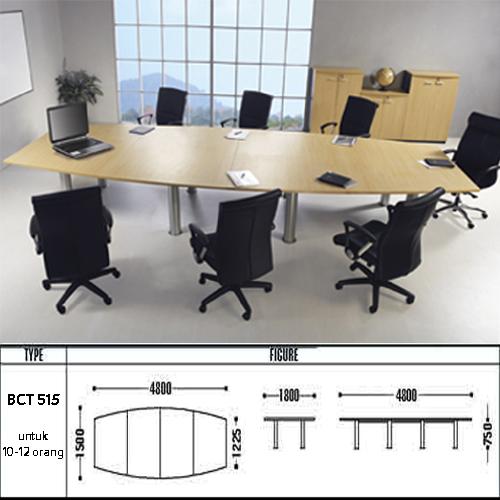 meja kantor modera bct 515