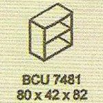 meja kantor modera bcu 7481