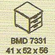 meja kantor modera bmd 7331