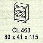 meja kantor modera cl 463