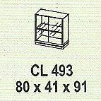 meja kantor modera cl 493