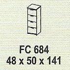 meja kantor modera fc 684