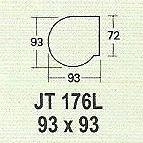 meja kantor modera jt 176l