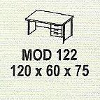 meja kantor modera mod 122