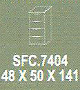 meja kantor modera sfc.7404