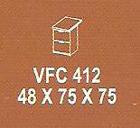 meja kantor modera vfc 412