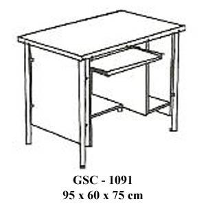 meja komputer gsc - 1091