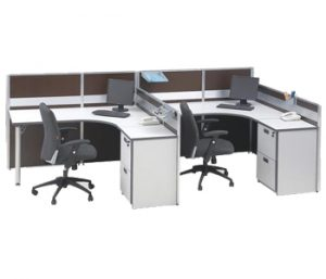 Partisi Kantor Modera 3 Series 2 Staff