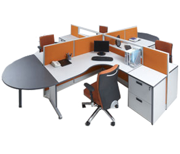 partisi kantor modera workstation 5-series workstation 1