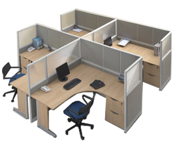 partisi kantor modera workstation 5-series workstation 3