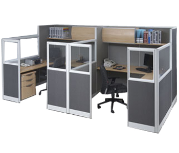 partisi kantor modera workstation 5-series workstation 4
