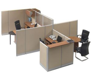 Partisi Kantor Modera 5 Series C 2 Staff