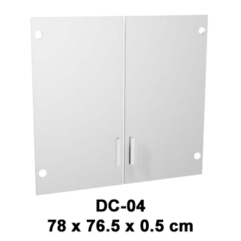 pintu kaca cabinet kecil expo dc-04