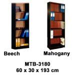 rak buku besar tanpa pintu mtb-3180