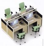 Partisi Kantor Uno Series Premium 4 Staff