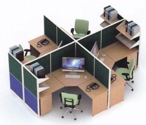 Jual-Partisi-Kantor-Uno-09-Series-Premium-4-Staff-Murah