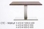 Meja Bulat Indachi CTC-Walnut