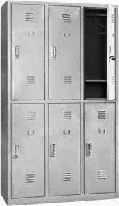 Loker 6 Pintu Modera ML-886