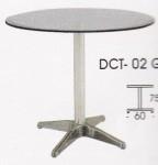Meja Makan Indachi DCT-02 Glass