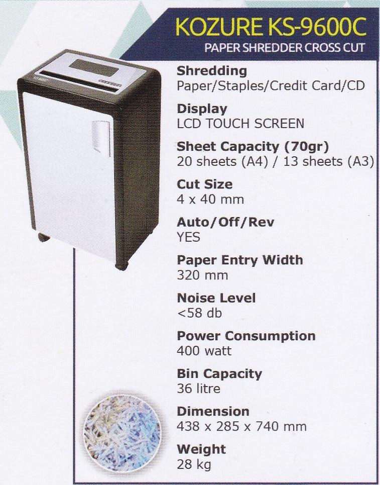 KS-9600C