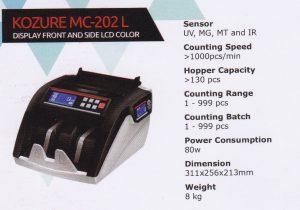 Mesin Hitung Uang Kozure MC-202 L